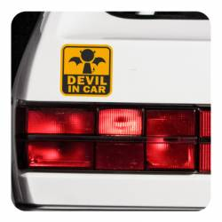 DEVIL IN CAR