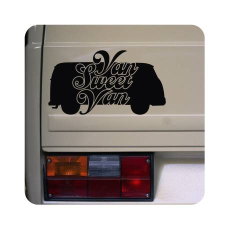 Autocollant van sweet van