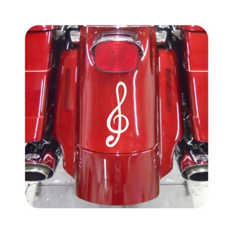 Violinschlüssel Aufkleber