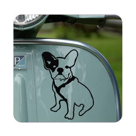 Sticker Bulldog frances