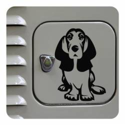 Sticker cocker spaniel