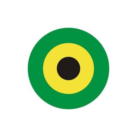 ZIEL JAMAICA Aufkleber