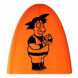 Sticker Goku Homer