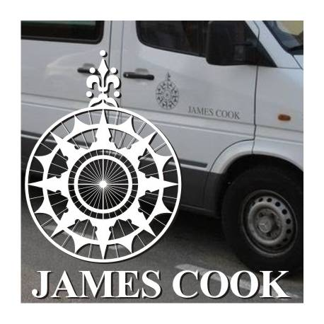 Autocollant kit James Cook Sprinter