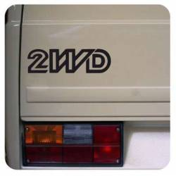 2WD Sticker