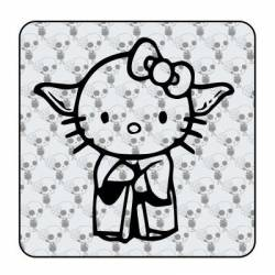 YODA KITTY Sticker