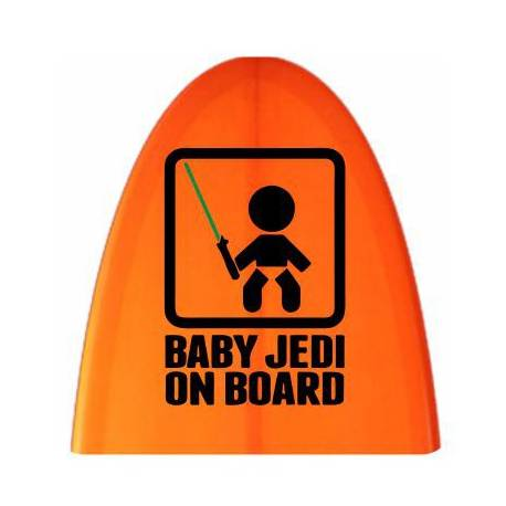 BABY JEDI ON BOARD Aufkleber