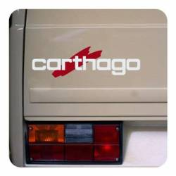 Sticker logo carthago