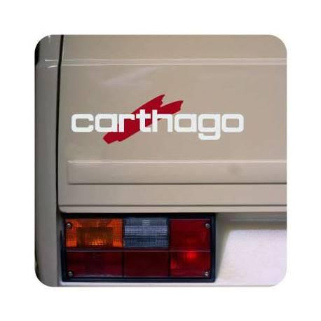 Adesivo logo carthago