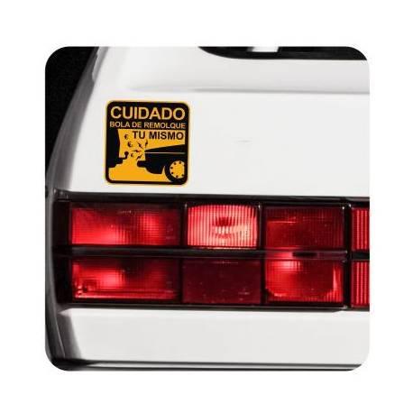Autocollant BOLA DE REMOLQUE