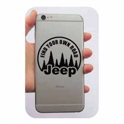 Autocollant Find Your Own Road - Jeep