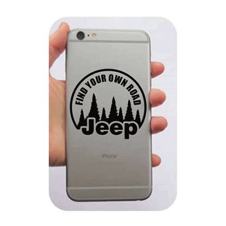 Adesivo Find Your Own Road - Jeep