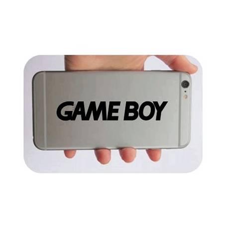 Pegatina Game Boy. Vinilo de alta calidad, soporta perfectamente la intemperie, apto incluso para náutica. Pégala donde quieras,