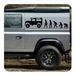 Evolucion Land Rover Sticker