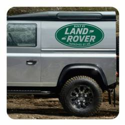 Autocollant Land Rover Improved By Me