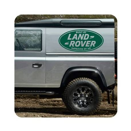 Land Rover Improved By Me Sticker