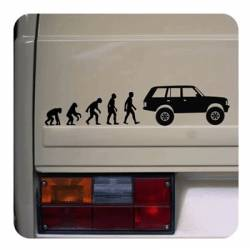 Evolucion Range Rover Sticker