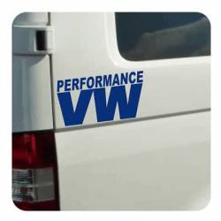 VW Performance Sticker