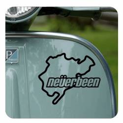 Neverbeen Sticker