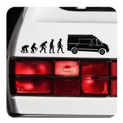 Pegatina Ford Transit Sticker