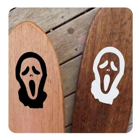 Mascara Scream Sticker