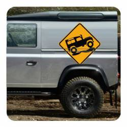 Land Rover Sticker
