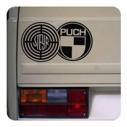 Autocollant Logo Steyr Puch