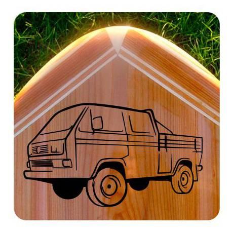 VW T3 Doka Sticker