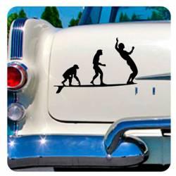 Longboard Evo Sticker