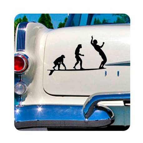 Longboard Evo Sticker