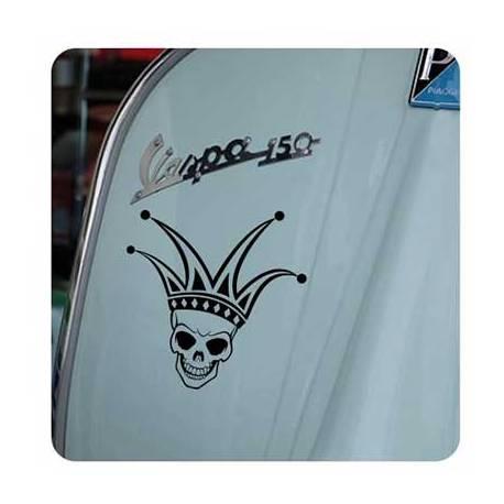Calavera Joker Sticker
