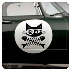 GATOS RASPAS Sticker