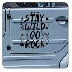 STAY WAIL GO ROCK Sticker