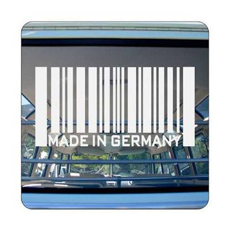 Autocollant MADE IN GERMANY