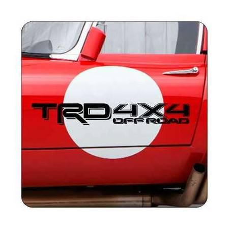 TRD 4X4 Sticker