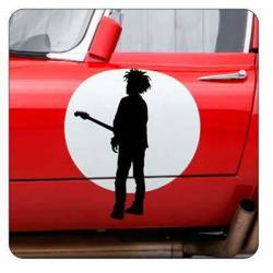 THE CURE ROBERT SMITH Sticker