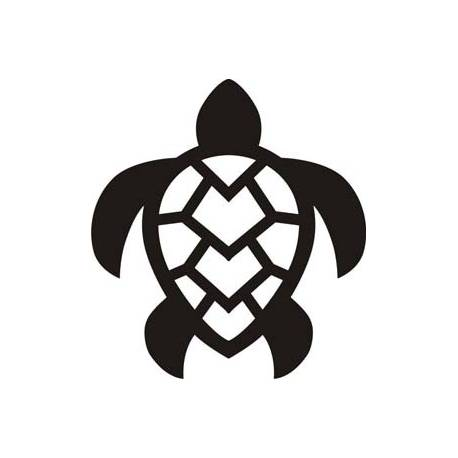 Sticker tortuga tribal