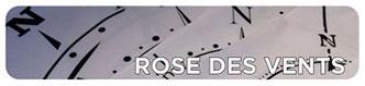 Pegatinas de Rosas de los Vientos